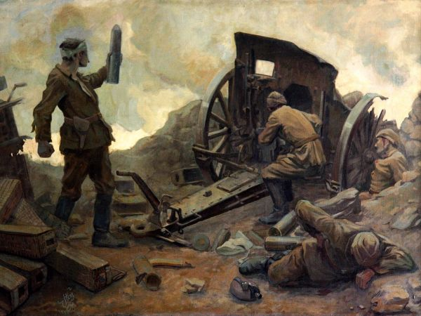 namik ismail, Kurtulus Savasinda Topcular, 1917