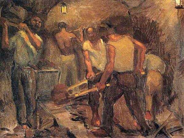 namik ismail, Maden İscileri