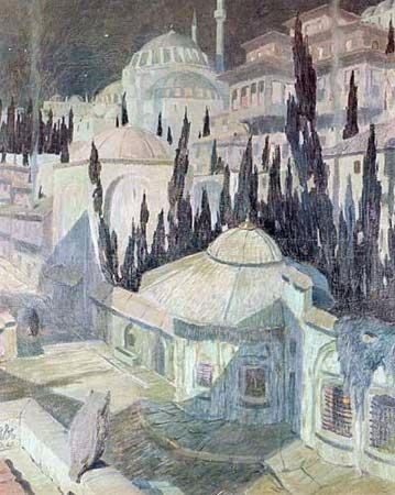 namik ismail, Mehtapta Cami, 1925