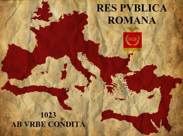 roma imparatorlugu haritasi