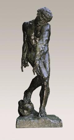 Auguste Rodin, Adam, 1880-81