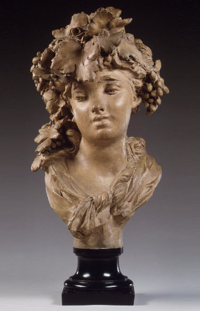 Auguste Rodin, Bacchante (Grapes or Autumn), 1874