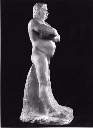 Auguste Rodin, Balzac Etude du nu de, 1892