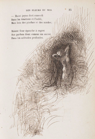 Auguste Rodin, Baudelaire