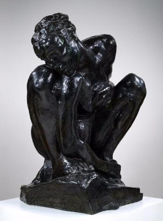 Auguste Rodin, Crouching Woman, 1906-1908