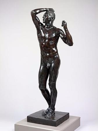 Auguste Rodin, L'Age d'Airain, 1877