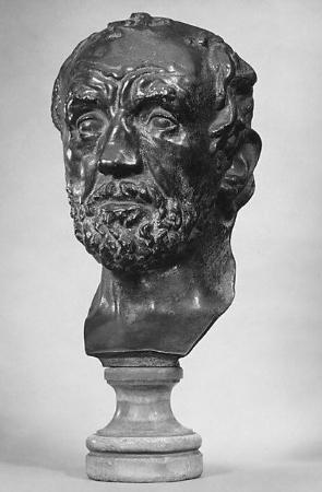 Auguste Rodin, L'Homme au nez casse, 1864