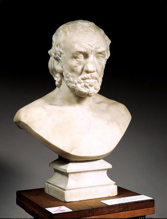 Auguste Rodin, L'Homme au nez casse, 1865