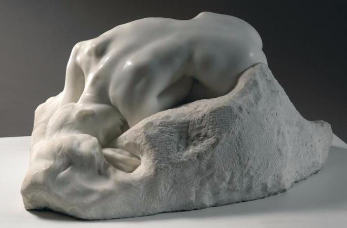 Auguste Rodin, La Danaid, 1889