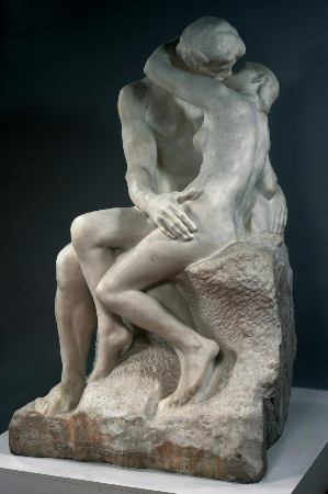 Auguste Rodin, Le Baiser, 1882