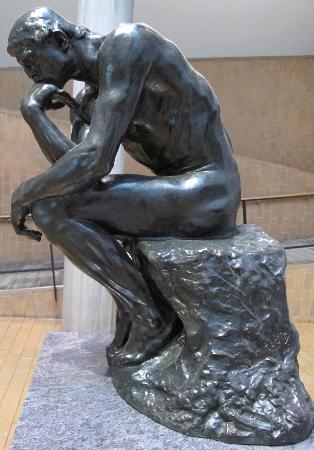 Auguste Rodin, Le Penseur, 1881-82