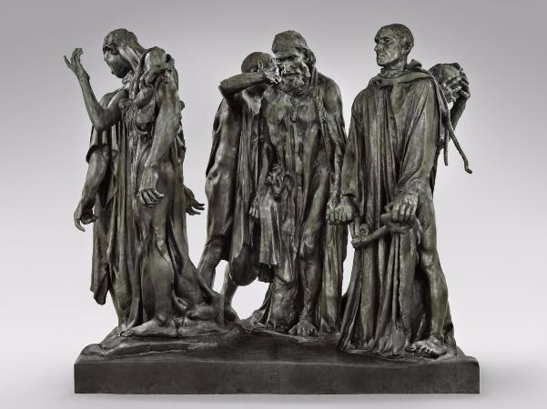 Auguste Rodin, Les Bourgeois de Calais, 1884-1895