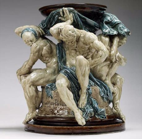 Auguste Rodin, Piedestal des Titans