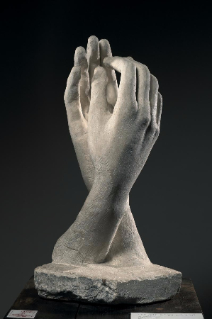 Auguste Rodin, The Cathedral, 1908