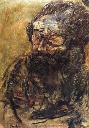 Burhan Uygur, Kuzgun Acar Portresi, 1973