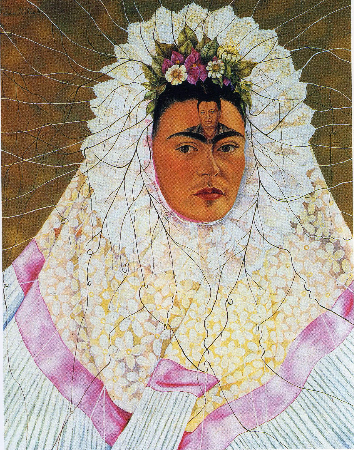 Frida Kahlo, Diego In My Thoughts, 1943