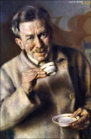Giacomo Balla, Caffe, 1928