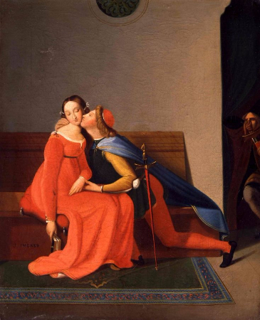 Jean Auguste Dominique Ingres, Paolo and Francesca, 1819