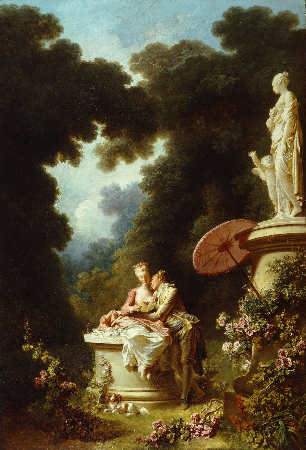Jean-Honore Fragonard, The Progress of Love - Love Letters, 1771-72