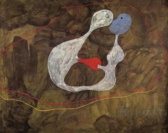 Joan Miro, Love, 1925