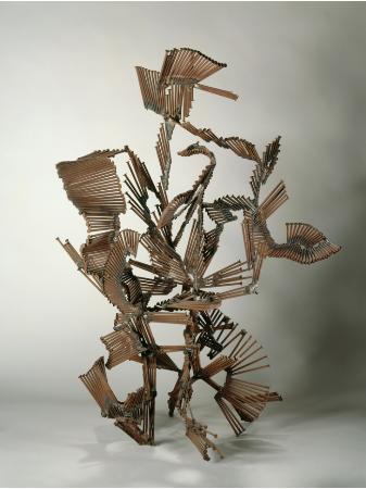 Kuzgun Acar, metal heykel, 1962, paris