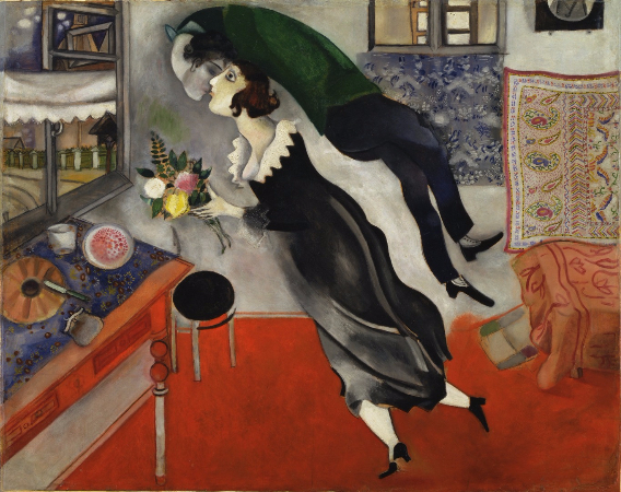 Marc Chagall, Birthday, 1915