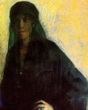Mihri Musfik, Kadin Portresi