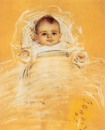 Mihri Musfik, Leyla Turgut Portresi, 1911-12