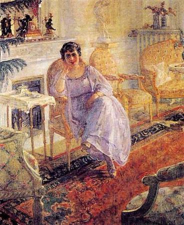 Mihri Musfik, Mevsume Yalcin Portresi