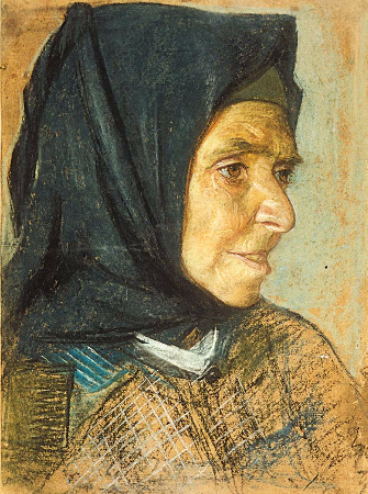 Mihri Musfik, Yasli Kadin Portresi