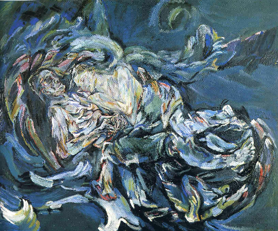 Oskar Kokoschka, The Bride of the Wind, 1913-14