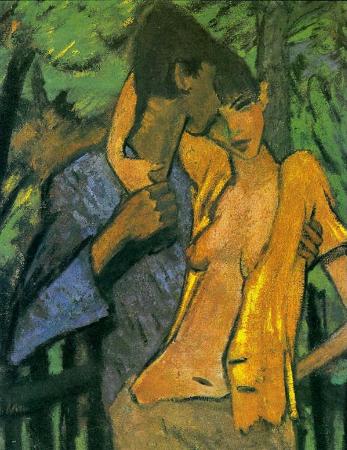 Otto Mueller, Liebespaar, 1919