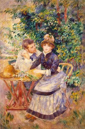 Pierre-Auguste Renoir, In The Garden, 1885