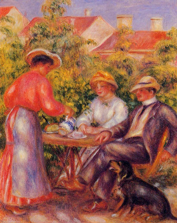 Pierre-Auguste Renoir, The Cup of Tea, 1907