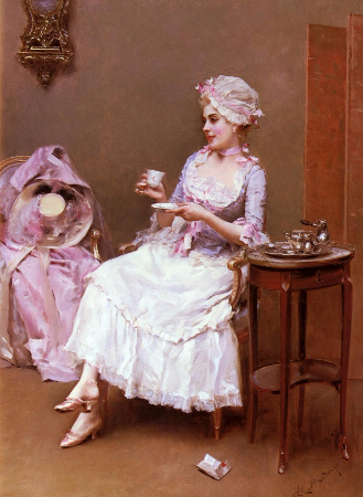 Raimundo de Madrazo, Hot Chocolate