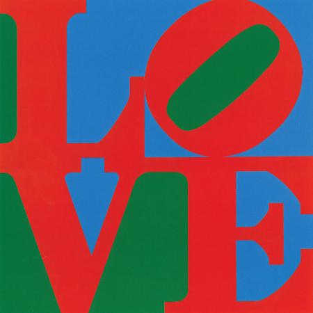 Robert Indiana, Love, 1966