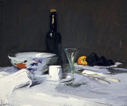 Samuel John Peploe, The Black Bottle, 1905