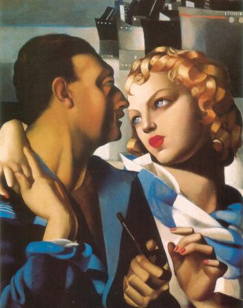Tamara de Lempicka, IdyII, 1931