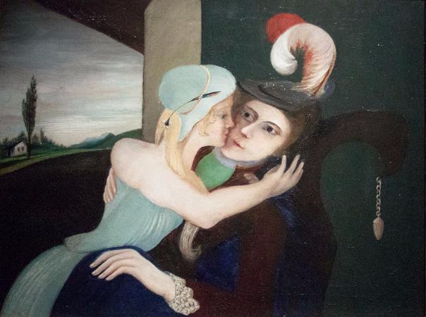 Tivadar Csontvary Kosztka, Lovers, 1902