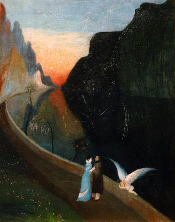 Tivadar Csontvary Kosztka, Rendez-vous of Lovers, 1902