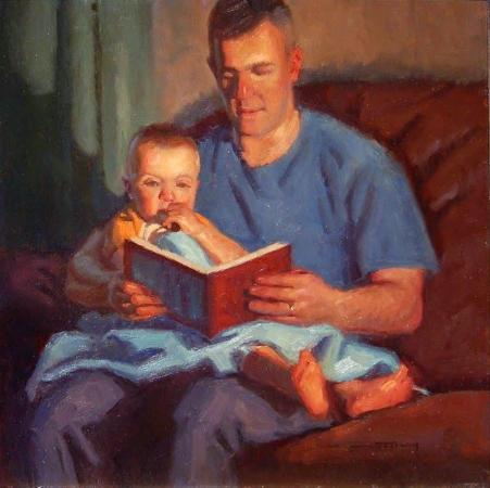 Warren F. Neary, Story Time