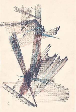 kuzgun acar, kagit uzerinde desen, 1962