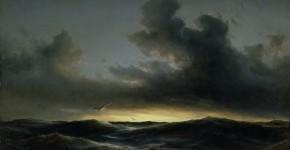 Anton Melbye, Meereseinsamkeit, 1852