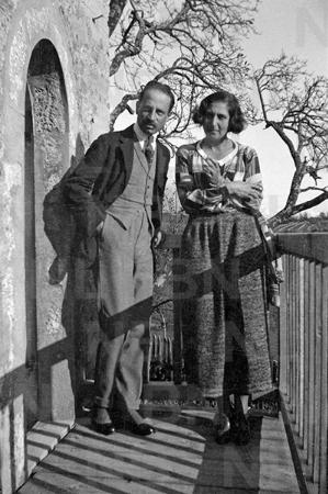 Baladine Klossowska ve Rilke