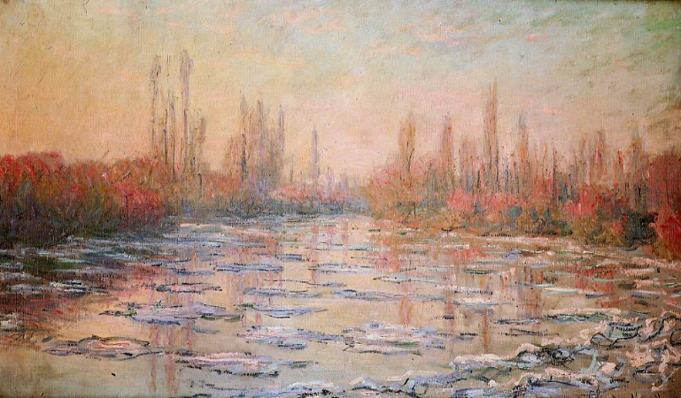 Claude Monet, Floating Ice