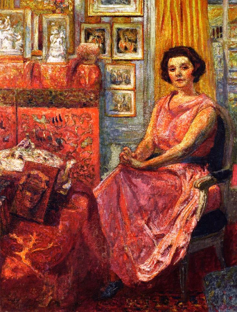 Edouard Vuillard, Madame Reine Benard, 1919-20