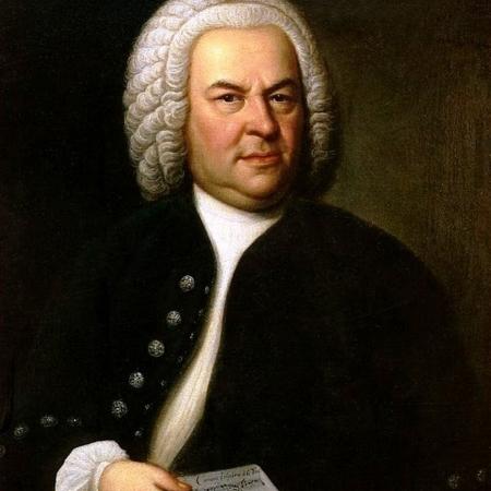 Elias Gottlob Haussmann, Johann Sebastian Bach, 1748