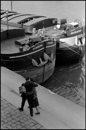 Erich Hartmann, Fransa, 1961