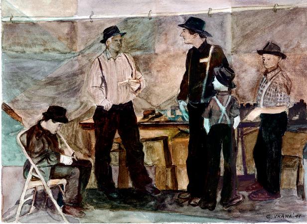 Ethel Vrana, Amish Market
