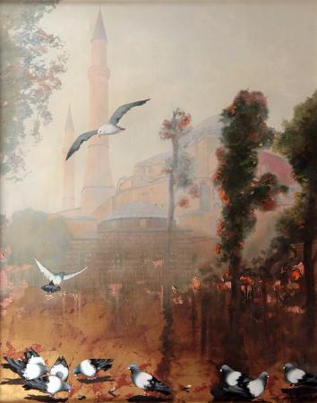 Faruk Cimok, Ayasofya